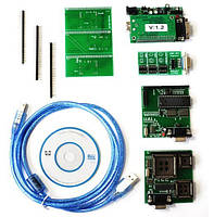 Программатор UPA USB PRO+ 6 адаптеров, фото 1