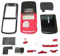 Корпус ААА Nokia 5320 (красный)+русская клавиатура