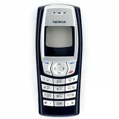Корпус ААА Nokia 6610 (чёрный)+русская клавиатура