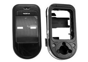 Корпус ААА Nokia 7370 (чёрный)+русская клавиатура