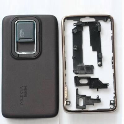Корпус ААА Nokia N900 (чёрный)+русская клавиатура