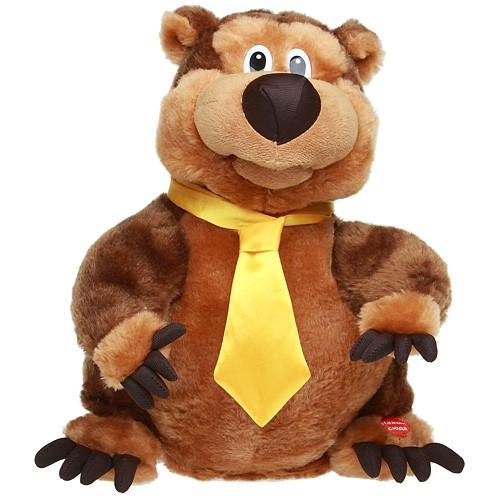 Поющий медведь Шпунтик