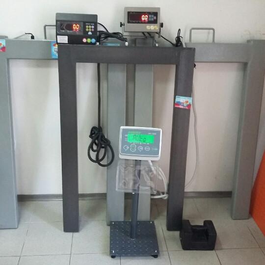Паллетные весы Зевс ВПЕ-2000-4(Н1208)  А12L