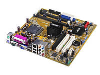 БУ Материнская плата Asus P5LD2-VM (s775, 4xSATA, 2xDDR2, VGA, 2xPCI, PCI-e x1, mATX) (P5LD2-VM)