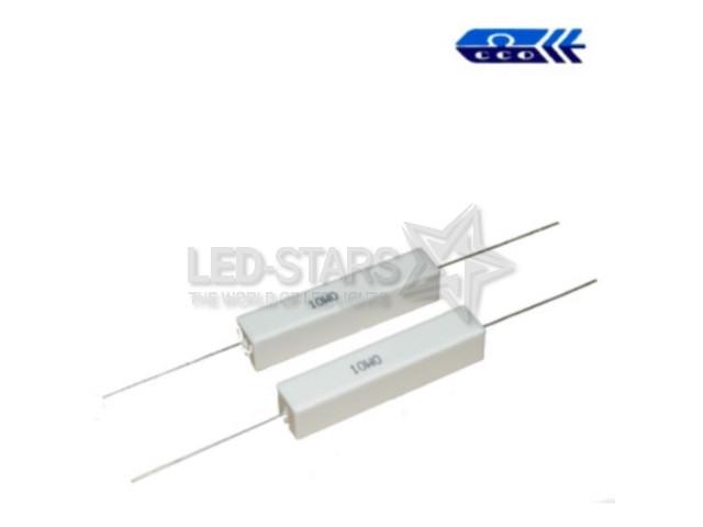 0,62 om (SQP 10W) ±5% резистор выводной цементный