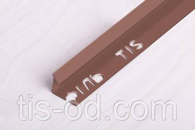 Угол ПВХ внутренний для плитки 7мм