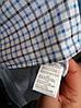 Сорочка в клітку з довгим рукавом приталені BAGARDA код 4734, фото 3