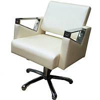 Кресло парикмахерское Макс хром