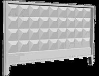 Забор железобетонный П6в