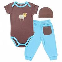 Набор для младенцев HUDSON BABY Cow Brown
