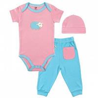 Набор для младенцев HUDSON BABY Sheep Pink