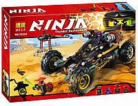 """10524 Конструктор Bela Ninja, LEPIN 06032  (аналог Ninjago 70589) """"Горный внедорожник"""" 429 деталей"""