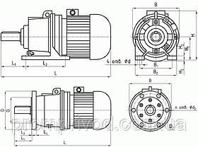 Мотор-редуктор 3МП-80, фото 3