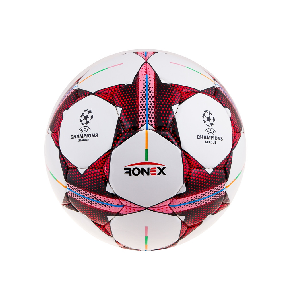 Мяч футбол Ronex(Finale)Pink/Red RX-F-DXN-PRB