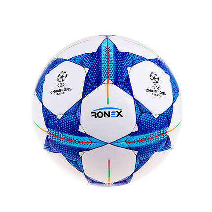 М'яч футбол Ronex(Finale)Sky/Blue/Black RX-F-DXN-SBB, фото 2