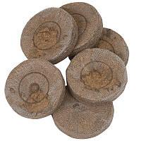 Торфяные таблетки 44мм в оболочке Jiffy, Дания — для выращивания рассады. Высокое качество!!!
