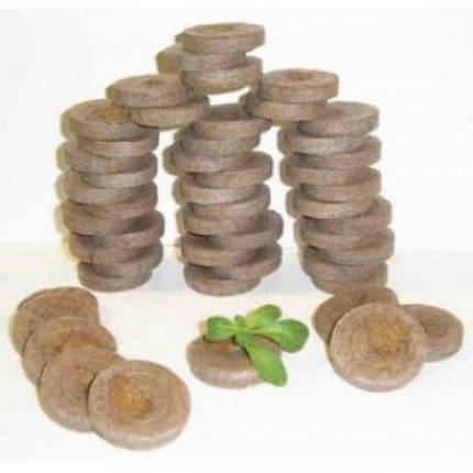 Торфяные таблетки 33мм в оболочке Jiffy, Дания — для выращивания рассады. Высокое качество!!!, фото 2