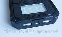 Внешний аккумулятор UKC 32800mAh с солнечной панелью и светильником, POWER BANK Solar, фото 3