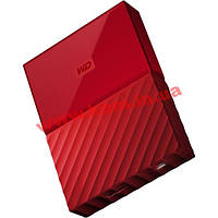 "Внешний жесткий диск WD 2.5"" USB3.0 2Tb My Passport Red (WDBYFT0020BRD-WESN)"
