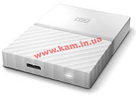 "Внешний жесткий диск WD 2.5"" USB3.0 1Tb My Passport White (WDBYNN0010BWT-WESN)"