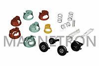 Набор декоративных кнопок с держателями и пружинами для ломтерезок Bosch 174762 (код:19611)