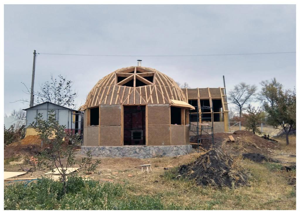 Купольный дом Украина
