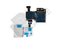Разъем Sim-карты и карты памяти для Samsung i9500 Galaxy S4/i9505/i337/i545/M919, на шлейфе