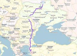 Измир, Турция → Сирет- Порубне → Чернигов, Украина