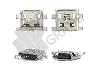 Разъем зарядки Huawei G510 (U8951) Ascend/9500/9530/9630/Z170C/Z10, micro-USB