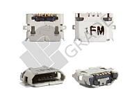 Разъем зарядки Sony Ericsson U5/X10/X8/ LG E730 (micro USB)