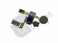 Разъем наушников для Samsung i9100 Galaxy S2, с динамиком, с вибро, с микрофоном, на шлейфе