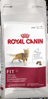 Корм сухой Роял Канин для активных котов Royal Canin  Fit  4 кг