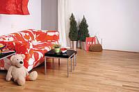 Паркетная доска пр-во BARLINEK Дуб красный 3 полосный, лак professional FAMILY, замок Seger