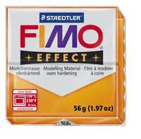 Полимерная глина FIMO Effect, прозрачный оранжевый (56г) STAEDTLER. 404/8020