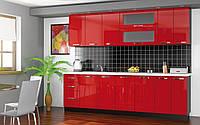 """Кухня """"Гамма(глянцевые фасады) 2,0 м"""" от """"Мебель Сервис"""""""