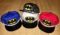 Стильные детские кепки с логотипом Бетмен