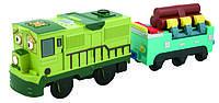 Моторизированный паровозик Данбар с грузовым вагоном Chuggington LC58004