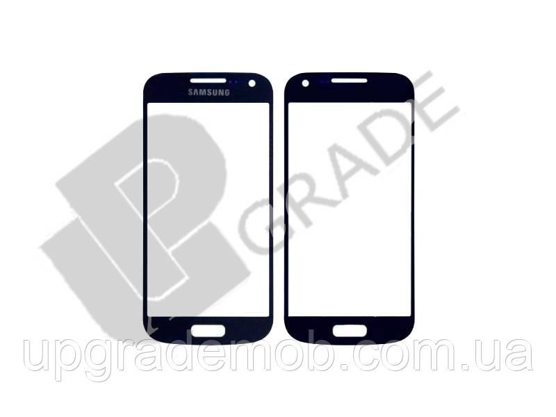 Стекло Samsung i9190 Galaxy S4 mini/i9192/i9195, синее - UPgrade-запчасти для мобильных телефонов и планшетов в Днепре