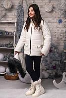 Зимняя куртка девичья 2017 ЕВ
