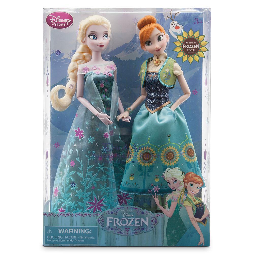 Анна и Эльза Холодное сердце набор кукол принцесс ДИСНЕЙ / DISNEY