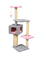 Комплекс игровой Алиса с домиком для кошек 138 см