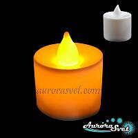 Светодиодная свеча, Оригинальные подарки, Световой декор, Светодиодные светильники от Aurorasvet, фото 1