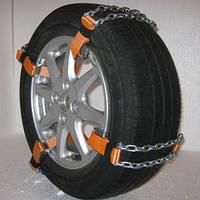 Цепи браслеты  L противоскольжения на колеса для R13-R15 (4шт) длина цепи 23см