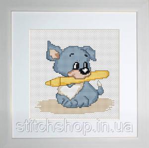 B184 Собачка. Luca-S. Набор для вышивания нитками
