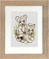B189 Тигрята. Luca-S. Набор для вышивания нитками