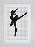 B2273 Балерина. Luca-S. Набор для вышивания нитками