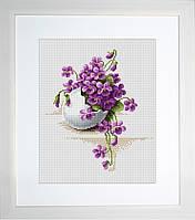 B104 С праздником Пасхи. Luca-S. Набор для вышивания нитками