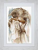 B2293 Под зонтом. Luca-S. Набор для вышивания нитками
