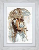 B2294 Под зонтом 2. Luca-S. Набор для вышивания нитками