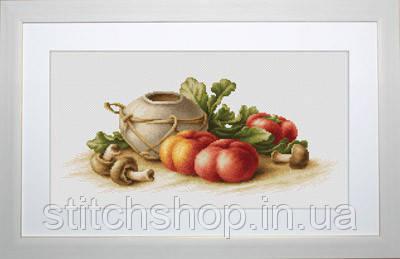 B2249 Натюрморт с овощами. Luca-S. Набор для вышивания нитками